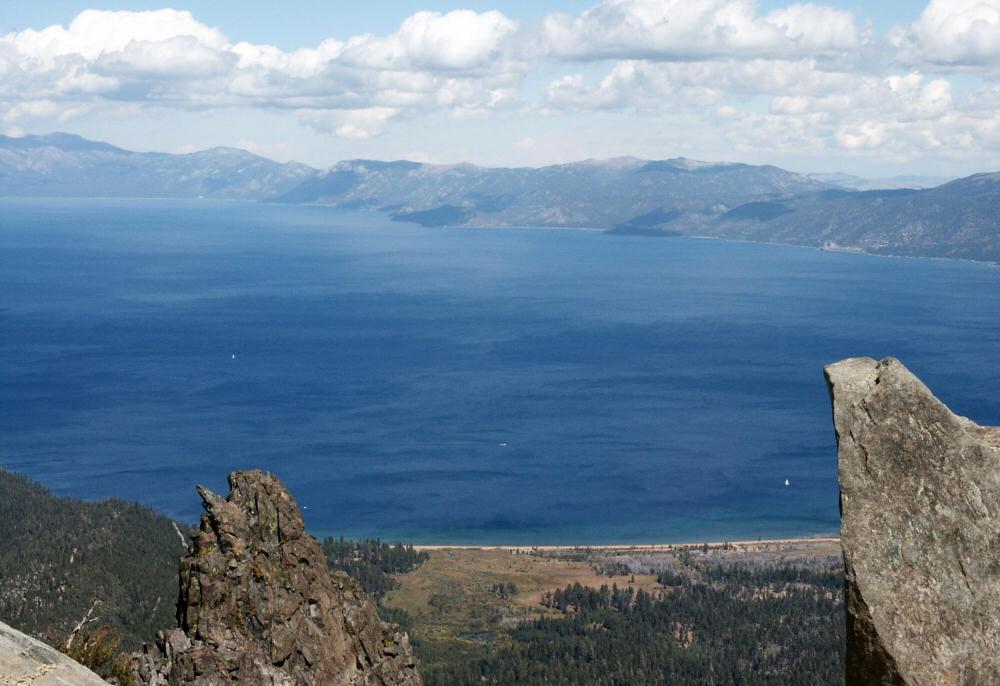 Mt Tallac Lake Tahoe